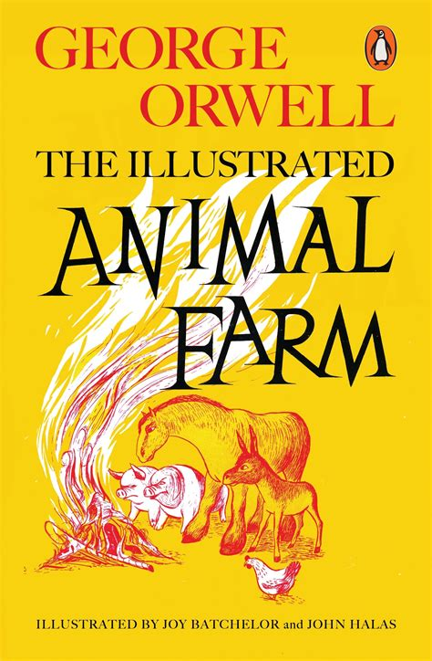 animal farm the illustrated 024119668x the illustrated animal farm by george orwell penguin books australia