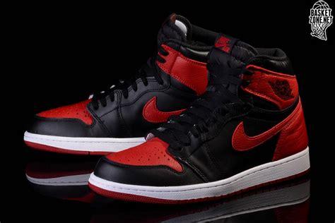 Nike Air Retro 1 Bred Banned Sepatu Sneakers Fashion Adidas Nike Air 1 Retro High Og Gs Bred Banned Smaller