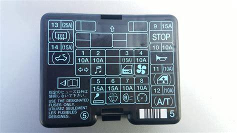 1999 mitsubishi montero sport fuse box diagram wiring