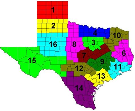 texas agriculture map feed and fertilizer service