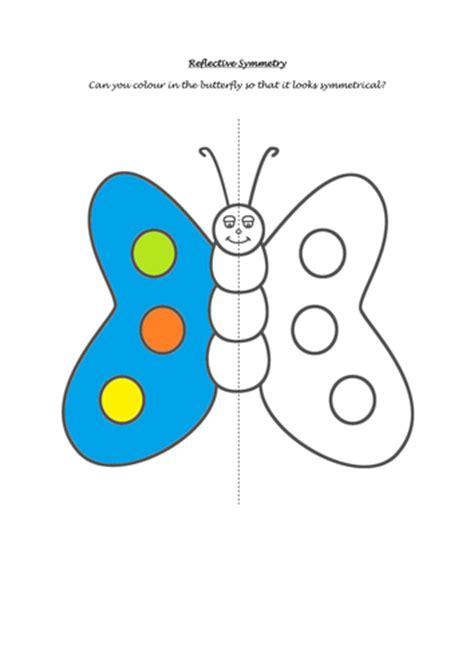 symmetry pattern games ks1 butterfly symmetry worksheet by missp87 teaching