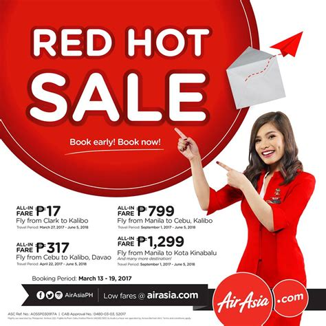 airasia go promo 2017 seat sale airasia fare for as low as p17 00 all in