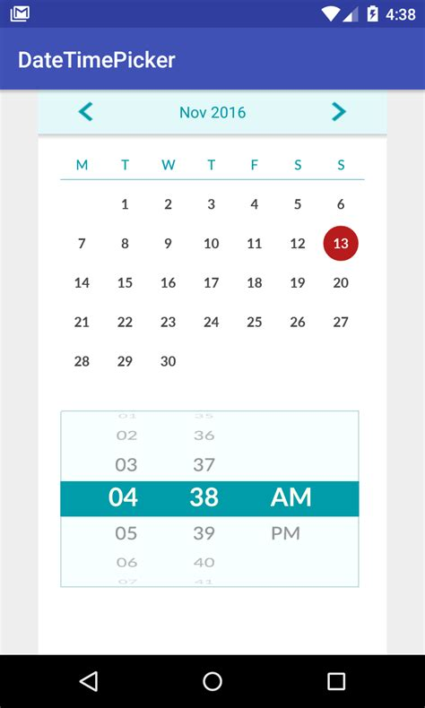 material design calendar android github github nhancv nc android datetime picker calendar picker