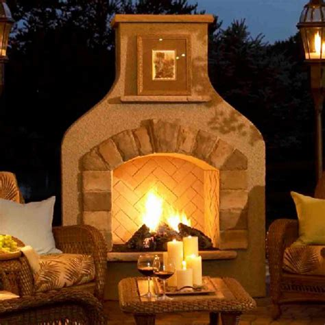 outdoor rooms with fireplaces blogs the right lighting will turn a patio into a piazza