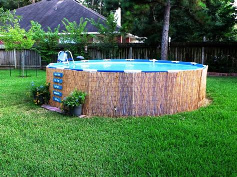 backyard pools above ground small above ground swimming pool is the answer amazing