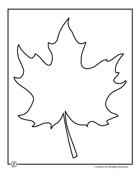pin printable maple leaf cut out template canada day