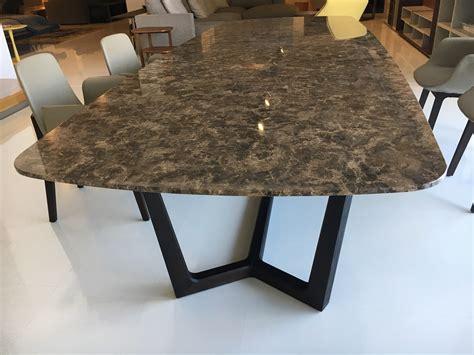 tavolo poliform poliform tavolo concorde sagomati fissi pietra tavoli a