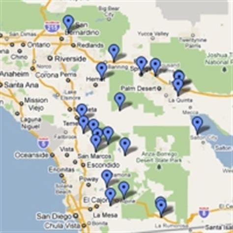 casinos southern california map indian casinos northern california map wallpaper