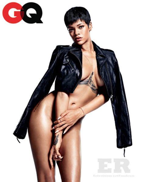 Stonestreet by Rihanna Gq December 2012 Spread 3 Entertainment Rundown