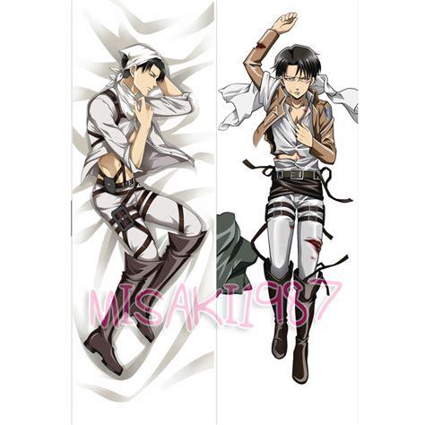 Attack On Titan Pillow by Attack On Titan Dakimakura Levi Anime Hugging