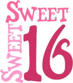 My Sweet 16 Birthday Essay by Apron With A Spoon Happy Sweet 16th Birthday Jakelle