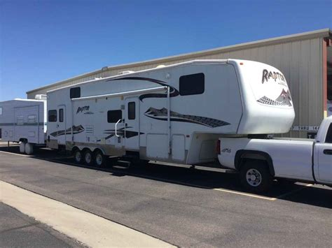 used 2006 keystone rv raptor 3612ds toy hauler fifth html 2006 used keystone raptor 3612ds toy hauler in arizona az