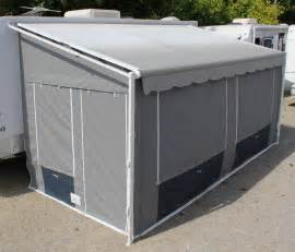 alpine canvas products rv awning walls