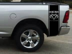 product 2 hemi 5 7 liter ram stripe dodge ram truck vinyl
