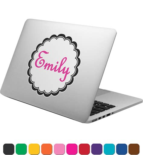 printable stickers for laptop zebra print polka dots laptop decal personalized