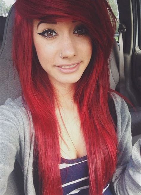 emo hairstyles for redheads 17 best images about scene kids on pinterest scene hair