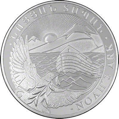 1 ounce silver coin value armenian one ounce silver noah s ark coins