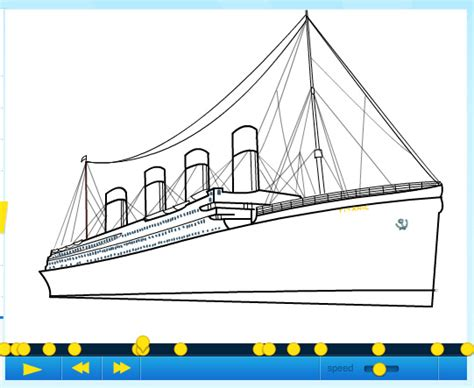 titanic boat sketch how to draw a ship from the movie titanic part 2 by