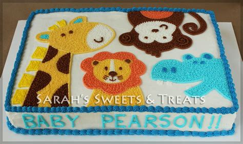 baby shower cakes animals baby shower cakes on jungle animals baby