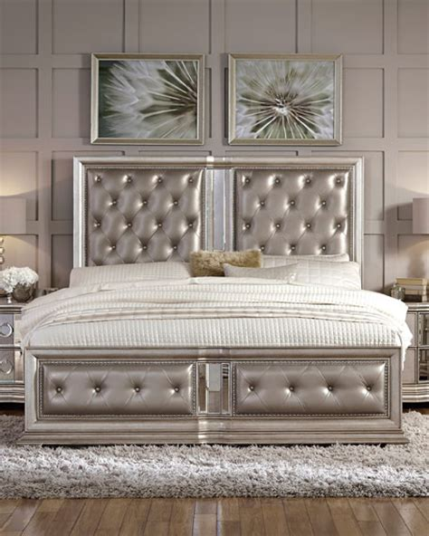 Tufted California King Bed by Tufted California King Bed Neiman