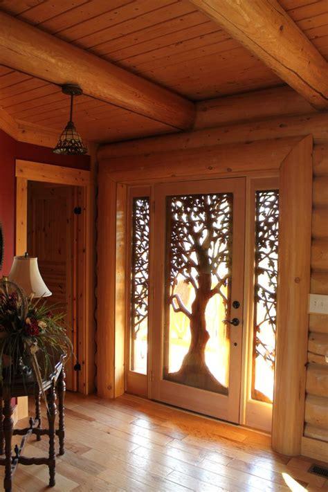 Front Door Trees Carved Wooden Tree Front Door Stunning Doors