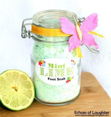 Wonderful Foaming Foot Bath by Mint Lime Foot Soak Which A Wonderful Mint And Fresh