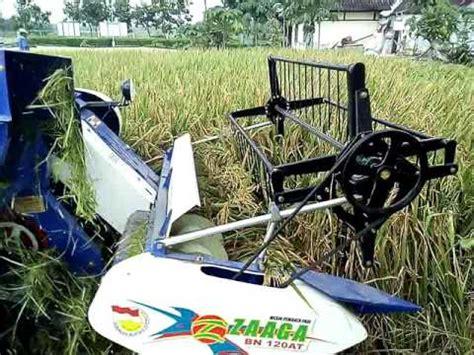 Mesin Zaaga mesin panen padi zaaga karya anak negeri live di padangan