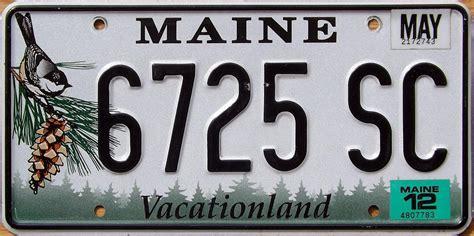 Vanity Plates Maine by Maine 2 Y2k