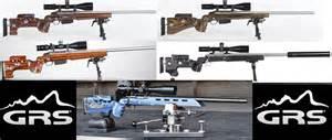 New range of laminate adjustable stocks for howa weatherby tikka