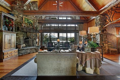 home decor stores brton stunning spaces charming rustic lakefront home the vht