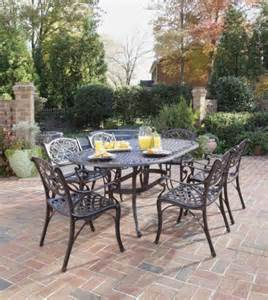 Patio Dining Set Clearance Patio Sets Clearance Home Styles 5555 338 Biscayne 7 Outdoor Dining Set Rust Bronze