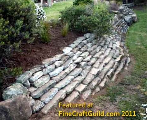 how to build a retaining garden wall how to build a self retaining garden wall