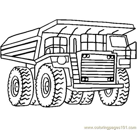 tonka truck coloring pages to print coloring pages