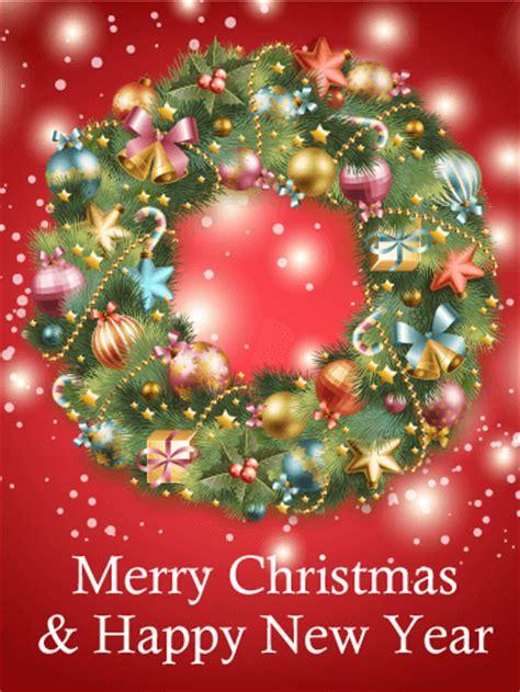 gorgeous christmas wreath card birthday greeting cards  davia