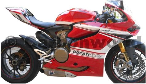 Ducati 1199 Sticker Kit by Decal Sticker Kit Corse White For Ducati 1199 Panigale Ebay