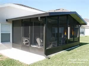 Vinyl Sunroom Screen Room Winter Springs Florida Prager Builders