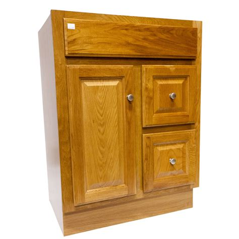 24 X 18 Vanity by Bathroom Vanity Regal Oak 24 Quot X 18 Quot 1 Door 2 Drawers