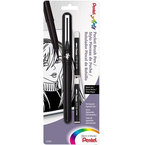 Hello Pocket Brush pentel pocket brush pens jerry s artarama