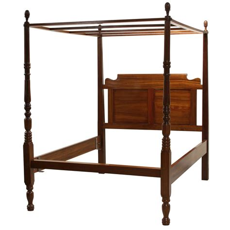 canopy beds for sale very fine solid mahogany queen canopy bed for sale at 1stdibs