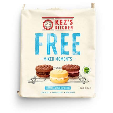 Kez S Kitchen Outlet Kez S Kitchen Free Gluten Dairy Free Mixed Moments 190g