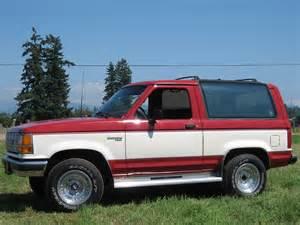 87fierored s 1989 ford bronco ii in arlington wa