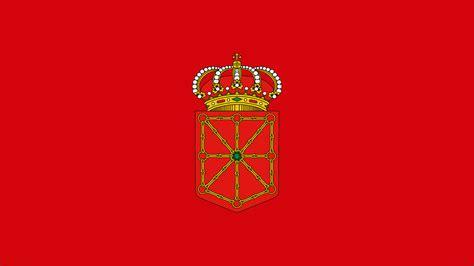 significado cadenas escudo navarra el color rojo en la bandera de navarra