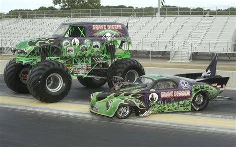 monster truck drag racing monster truck wallpaper and background image 1680x1050