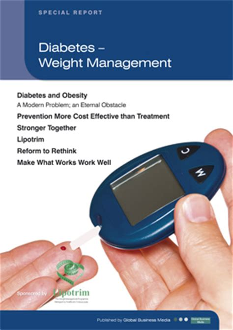 weight management and diabetes diabetes weight management lipotrim resources
