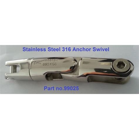 arnolds boats arnold s boat shop stainless steel 316 anchor swivel 3 way