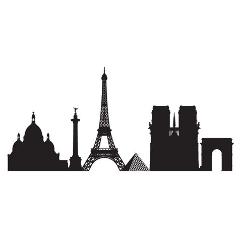 Home Decorating Tools skyline paris mesh stencil