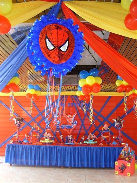 como decorar huevos del hombre araña decoracion de fiesta infantil fiestas infantiles