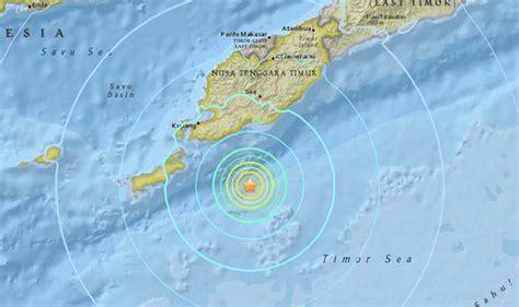 bali earthquake  earthquakes  rocking indonesia