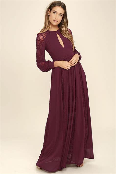 lace boat neck black open back maxi dress lovely burgundy dress maxi dress lace dress long