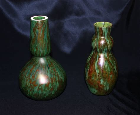 Bohemian Vases by Unknown Glass Bohemian Vases Collectors Weekly